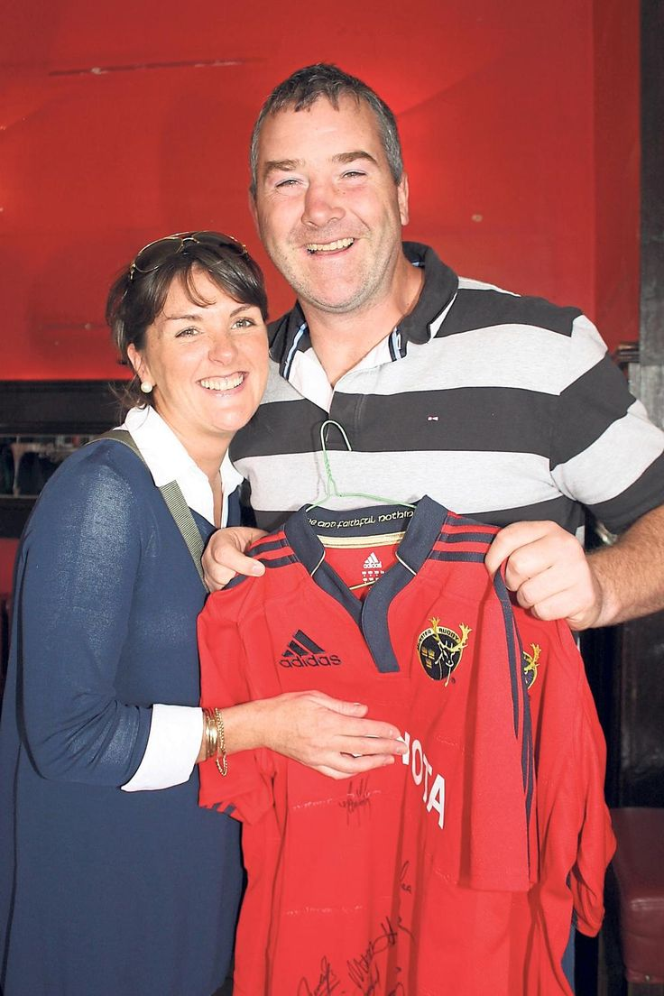 Anthony Foley RIP  with his wife Olive