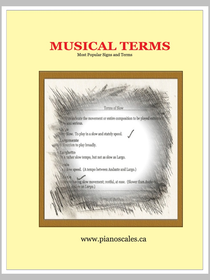 All your musical terms download to your tablet or smartphone. Learn on the go.