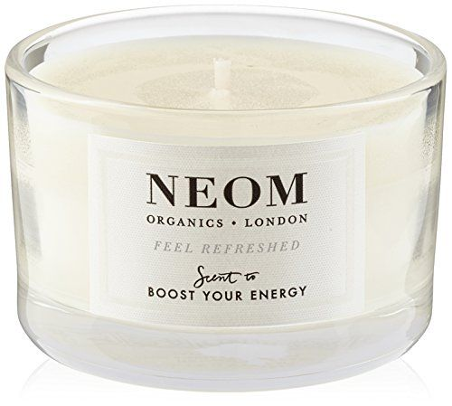 Neom Organic Candle | Stimulating and zesty citrus blend to energise body Contains pure essential oils Complex blend of pure, natural vegetable wax and 100% natural fragrance | | scented candles | scented candles aesthetic | Luxury Scented Candles UK | Scented Candles & Wax Melts | Scented Candles |