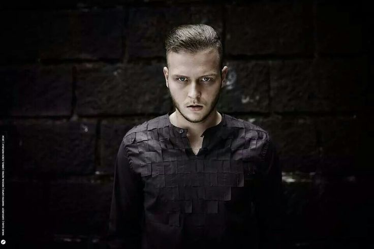 Model: Michal Kotas Photo: Majo Eliáš  Designer: Martin Čapek Amazing men's shirt created by awesome fashion designer