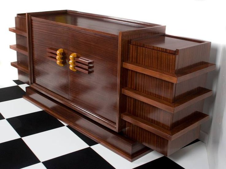art deco era furniture. french art deco period rosewood buffet circa 1930s era furniture