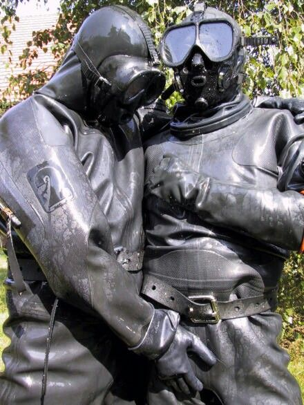 from Cole latex gay divers
