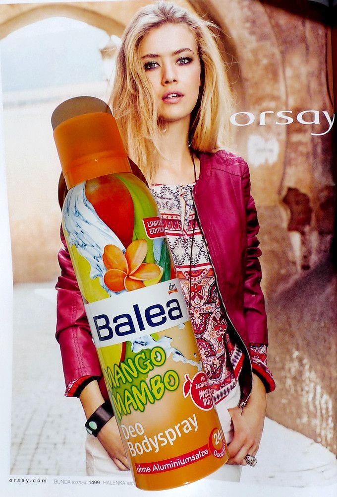 Balea Deo Bodyspray Mango Mambo