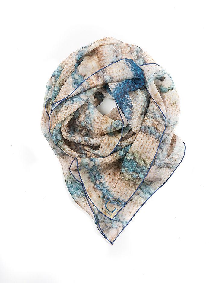 32 best Silk Print Scarves images on Pinterest