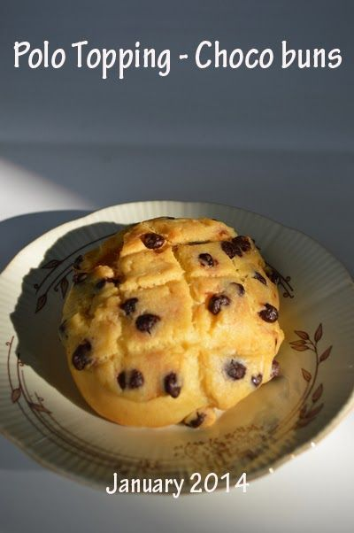 Sweet bun. Polo topping and chocolate filling bun. The topping is crunchy and the bun is fluffy. Yum yum.