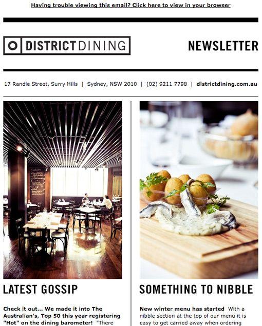 District Dining, by Elliott Routledge (http://www.elliottroutledge.com)