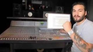 A-Trak visits Steve Angello in the studio making klezmer, via YouTube.