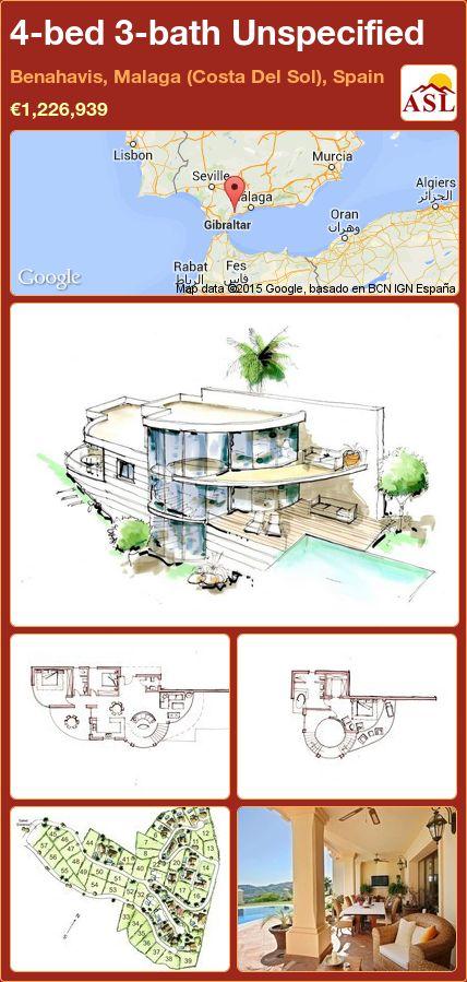 4-bed 3-bath Unspecified in Benahavis, Malaga (Costa Del Sol), Spain ►€1,226,939 #PropertyForSaleInSpain
