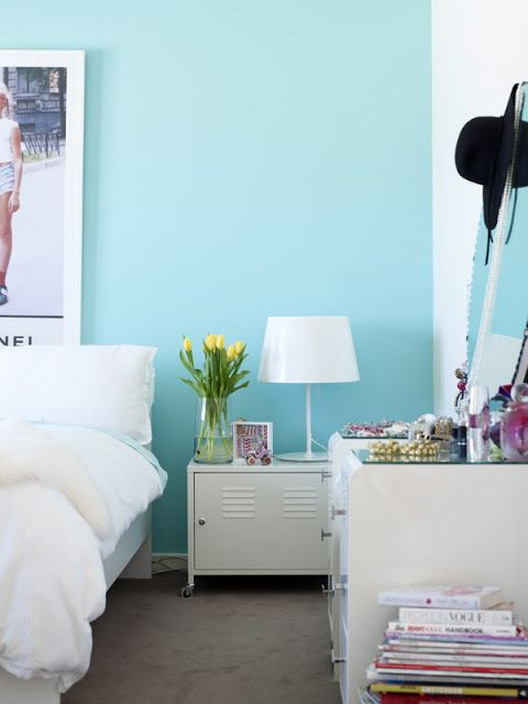Best 20 Turquoise Wall Colors Ideas On Pinterest Turquoise Walls Transitional Kids Desks And