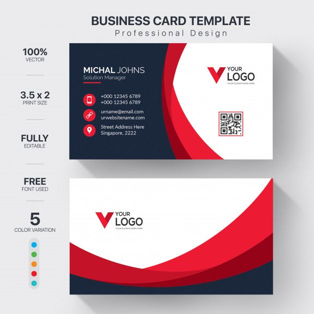 Download Creative Visit Cards With Color Variation For Free Visiting Cards Business Cards Creative Free Business Card Design