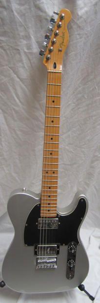 Fender Blacktop Telecaster 2011 Inca Silver | Reverb