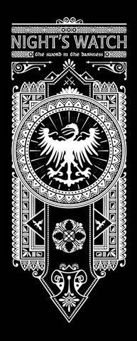 Night's Watch Banner by olipop #got #agot #asoiaf