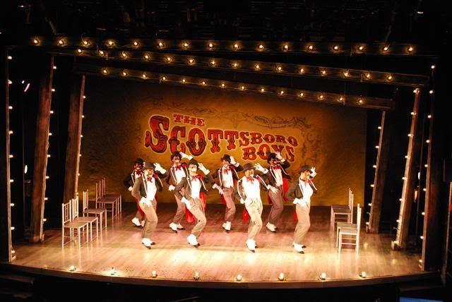 The Scottsboro Boys - Beowulf Boritt Design