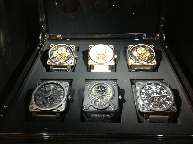 Super hats off to Bell & Ross for a stunning mega collection of unique & identifiable haute horological pieces.