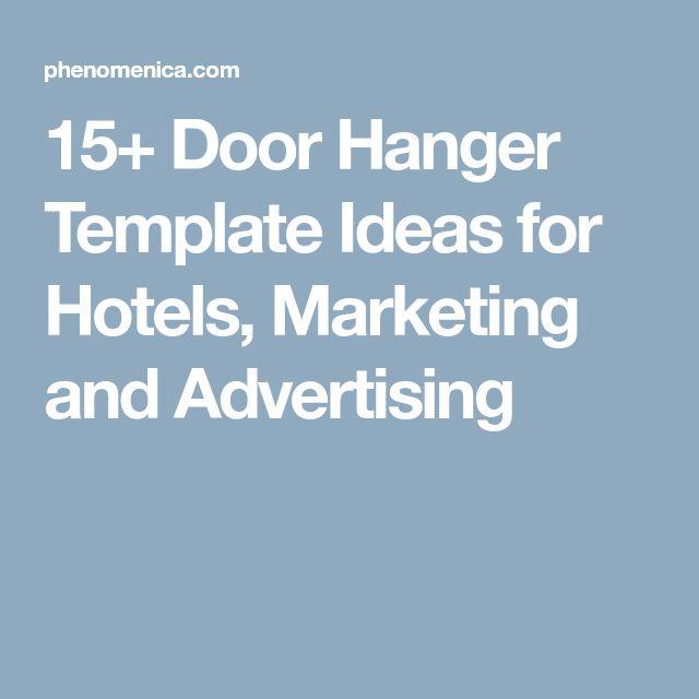 Promotional Door Hanger Template kicksneakers