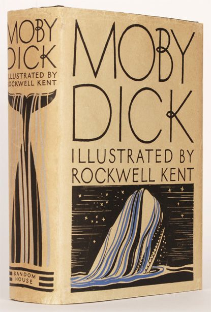 Rockwell Kent Moby Dick, first trade edition.
