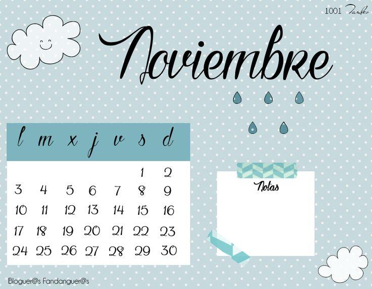 Calendario Noviembre 2014 Iniciativa Bloguer@s Fandanguer@s   http://1001tardes.blogspot.com.es/2014/10/calendario-noviembre-2014-bloguers.html