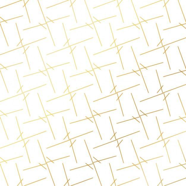 Золотой узор Золотой фон Золотой фон с абстрактными линиями Бесплатные векторы