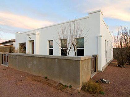 20 best marfa adobe desert home images on pinterest for Adobe home builders texas