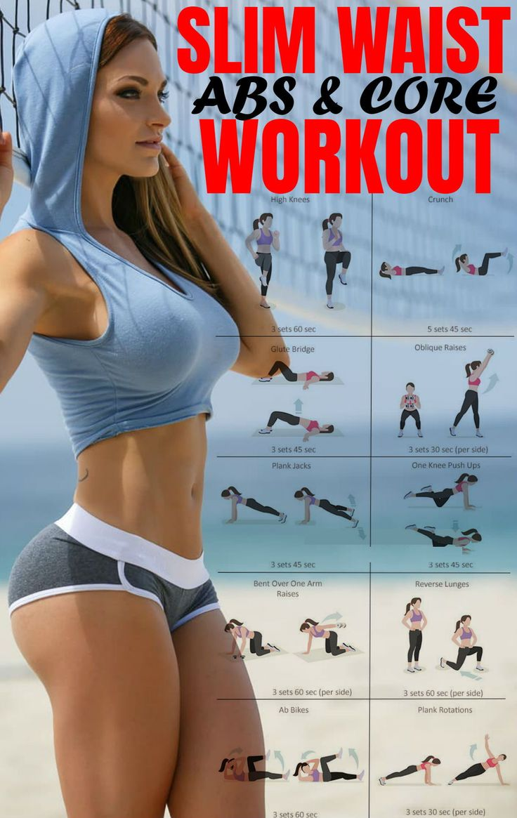 Women: looking for that elusive flat stomach? Combine this abs workout with a sm…