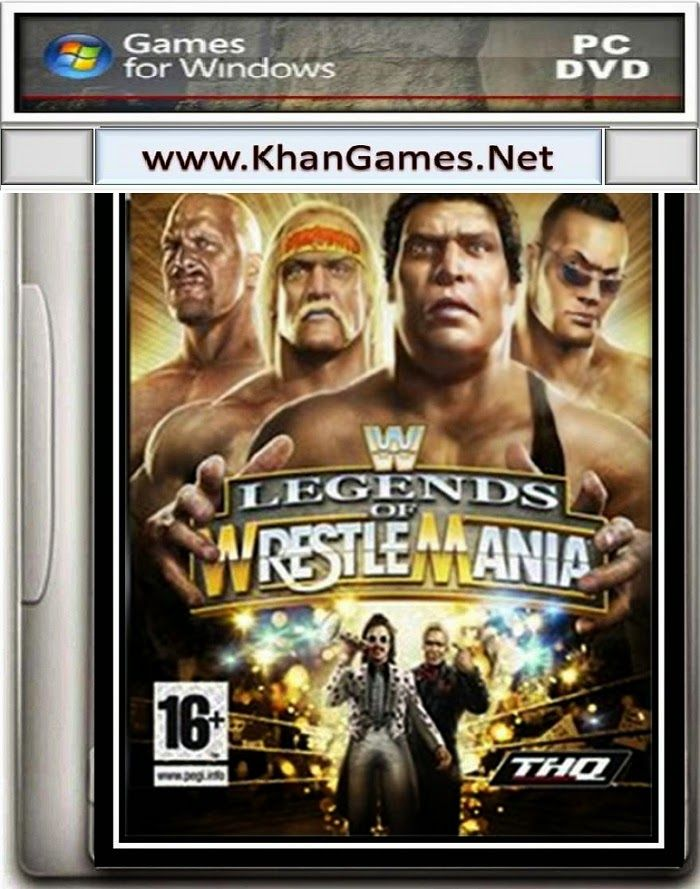 WWE Legends of WrestleMania Game Download Size: 440.6 MB System Requirements Operating System: Windows XP/Vista/7/8 System: Pentium 4 @ 1.4 Ghz Ram: 1 GB Graphics Card: 128 MB Hard Space : 500MB