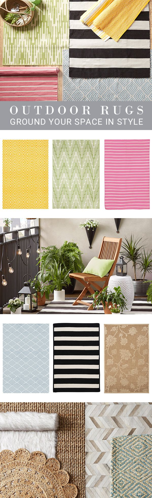 Style starts from the bottom up—enliven any space with chic rugs at irresistible prices from Joss & Main. Anchor living room furniture, add a pop of pattern to the patio, or lend flair to the foyer with rugs in eye-catching colors.