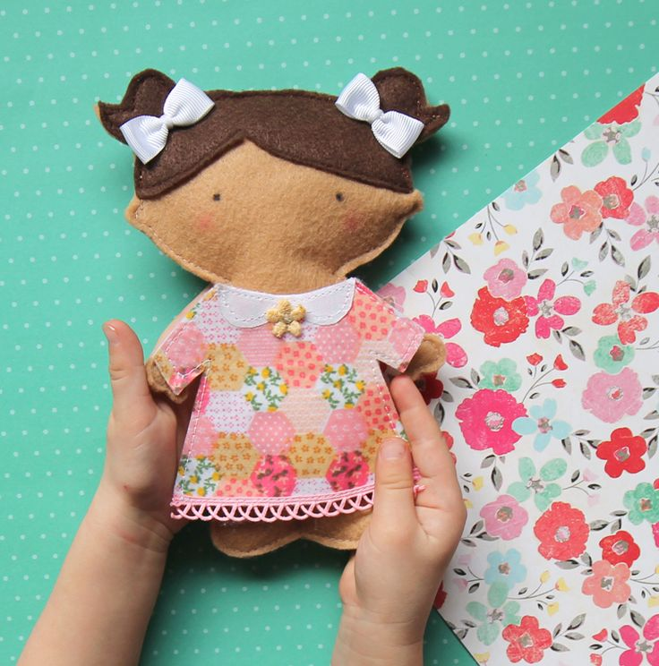 DIY Doll with free pattern