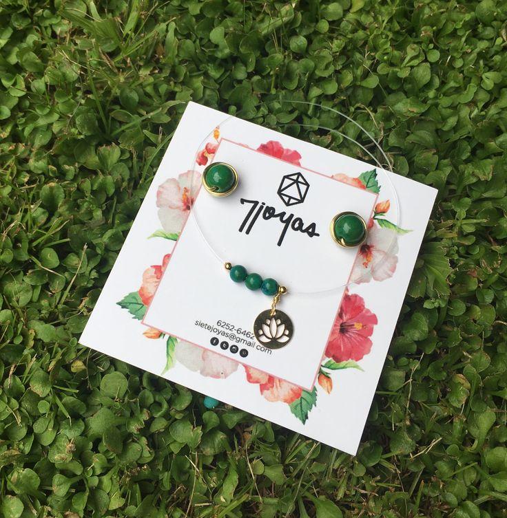 """Solo somos un momento❤️ Dúo De collar invisible """"Fantasmita"""" con aretes, trabajados en Turquesa Azteca. Colección Botánica Urbana #7joyas #botanicaurbana #jewerly #jewerllydesing #joyas #jewerlydesing #madeinpanama"""