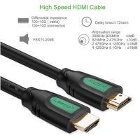 Ugreen Standard 1.4 V HDMI Cable with Ethernet for Xbox 360 PS3 TV Computer Projector