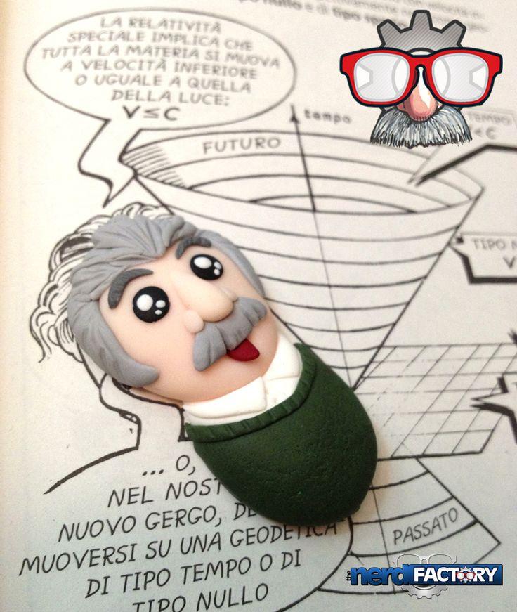 Einstein fimo handmade!