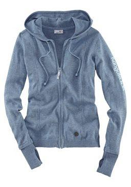 #OTTOWinterWeekend  Diese blau melierte #Kapuzenjacke für Damen von KangaROOS st ein toller Kombipartner für jede Sporthose, aber auch mit Jeanshose oder -rock ein echter Hingucker. Obermaterial: 50% Baumwolle, 50% Polyacryl. 49,99 Euro