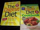 Lot/2 - The Digest Diet & The Digest Diet Cookbook --  Liz Vaccariello