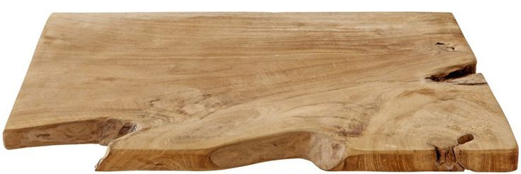 This bread board has been hand finished from teak wood. Please note that timber movement may occur.