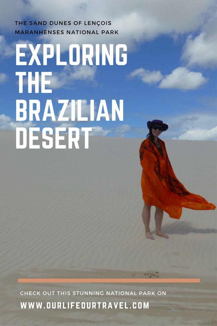 Desert in Brazil? The sand dunes are a must-see off-the-beaten-path place in the Lençois Maranhenses National Park near São Luís.