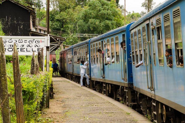 Zugfahrt von Kandy nach Ella – Quer durch das Hochland von Sri Lanka