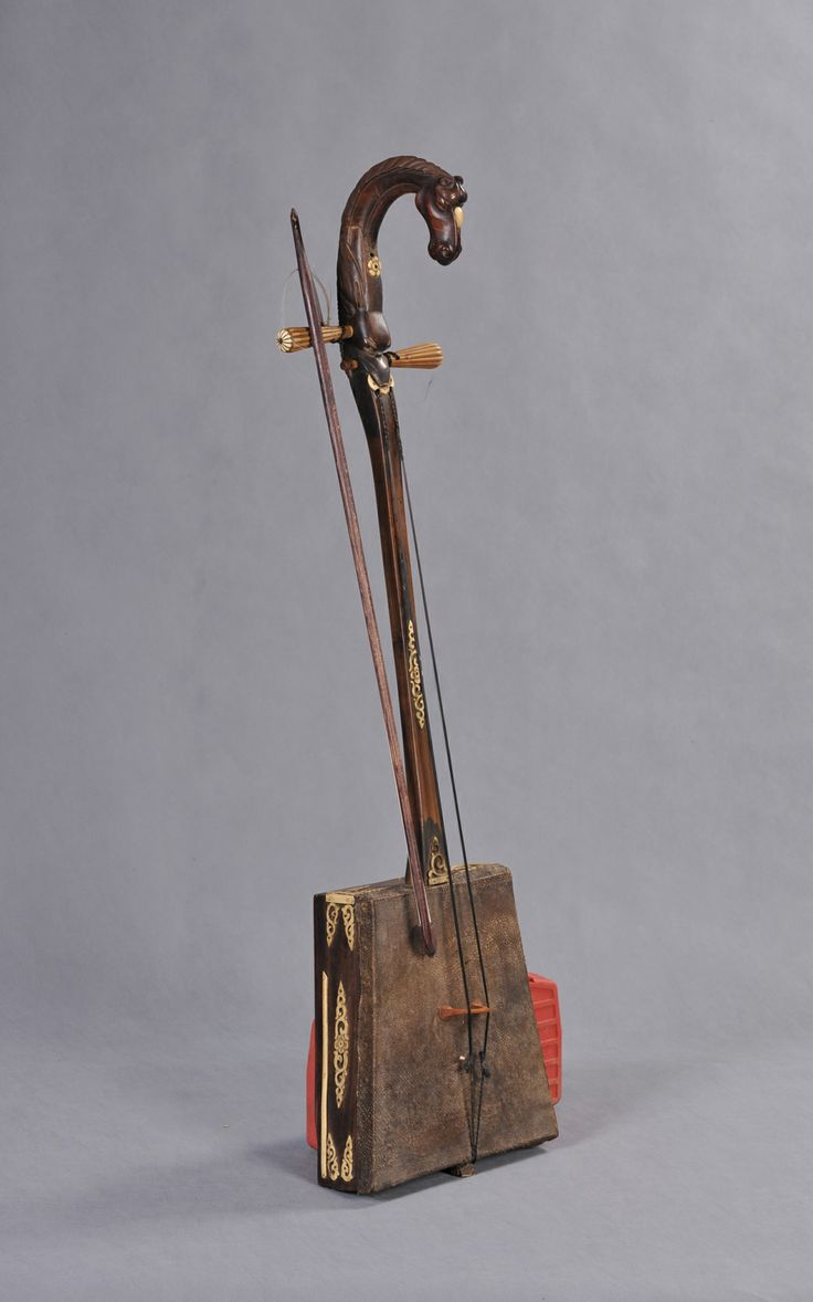 The Last Owner Of This Horsehead Fiddle Was Tundev, A Famous Player Of