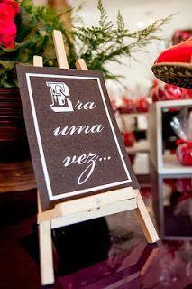 Bella Fiore Decoração de Eventos: Festa Chapeuzinho Vermelho