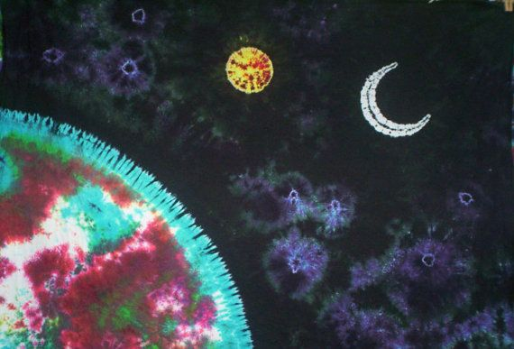 Floating Through the Universe Customizable Tie Dye by tiedyetodd, $95.00