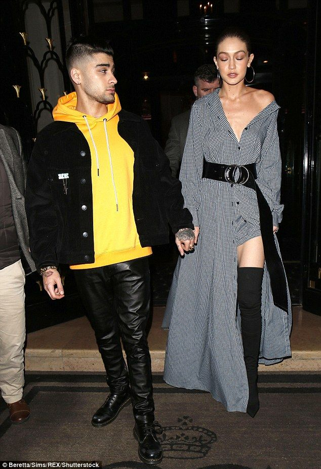 Zayn Malik and Gigi Hadid looked as gorgeous and loved-up as ever when they stepped out in Paris on Friday night.