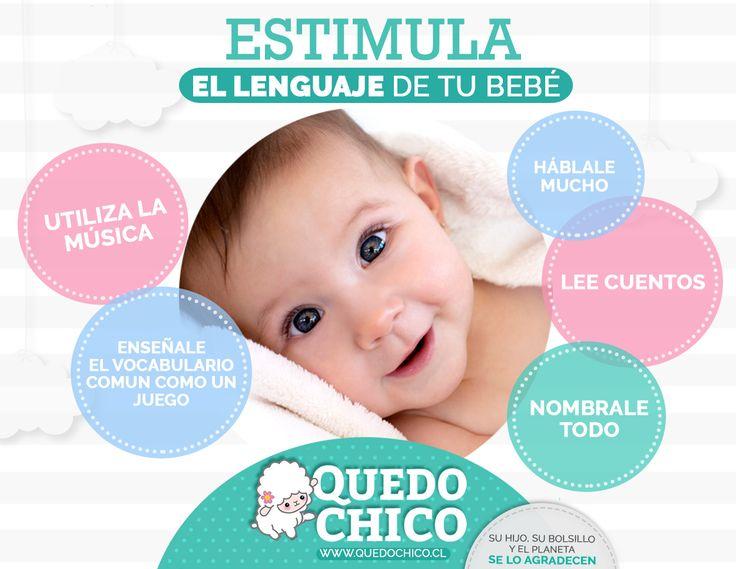 En #QuedoChico te brindamos los consejos y la información necesaria para la crianza de tus pequeños. ¡Chequea nuestros tips para estimular el lenguaje de tu bebé!