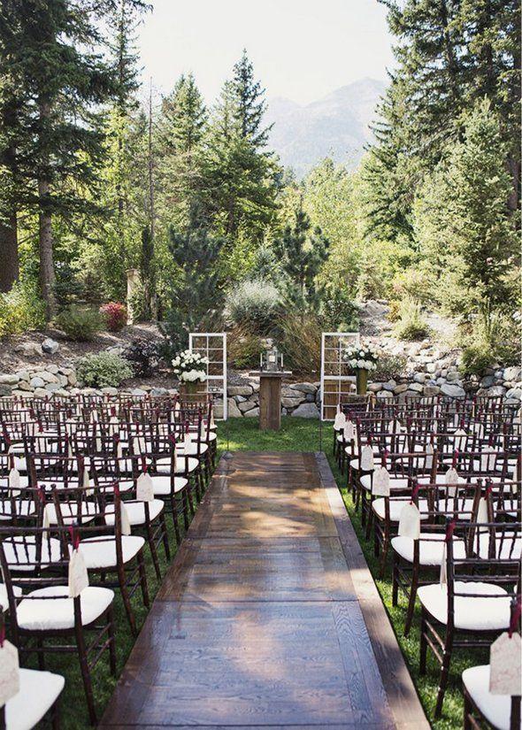 Sundance Resort Outdoor Wedding Ceremony