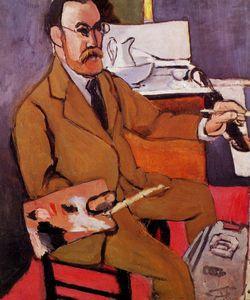 Autoportrait, Nice Hôtel Beau Rivage Le Cateau-Cambrésis, musée Henri Matisse ~ Henri Matisse ~ (French: 1869-1954)