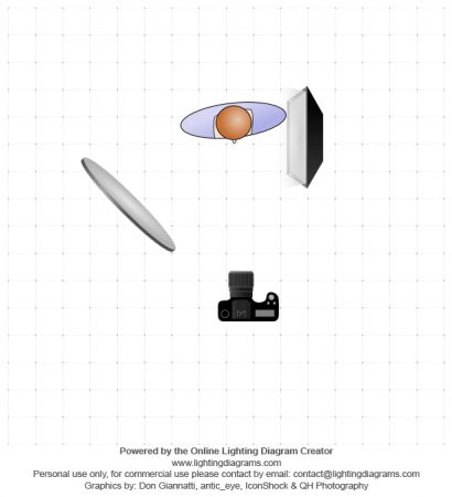 108 best lighting diagrams images on pinterest photography studio photo and lighting setup with softbox and reflector by vitalii semenenko sec ccuart Gallery