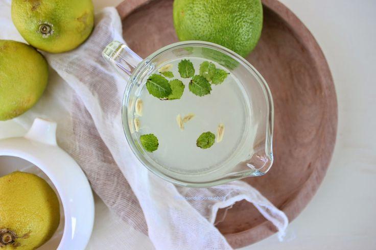 Vanilla&Staubzucker: Limonata fresca alla menta
