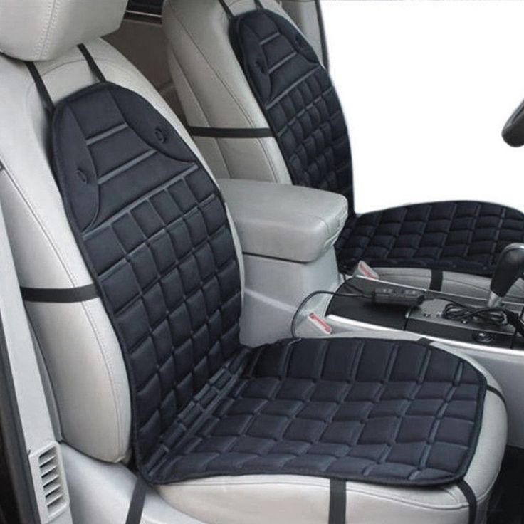 Winter Car Seat Covers Electric Warm Heated Universal Car Seat Cushion Pad Mat  #Unbranded