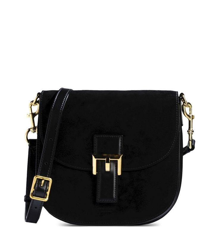 Marc Jacobs Black Suede Bag