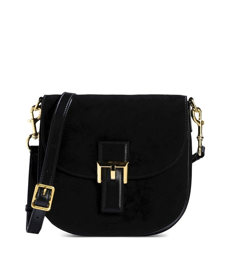Marc Jacobs Black Suede Bag
