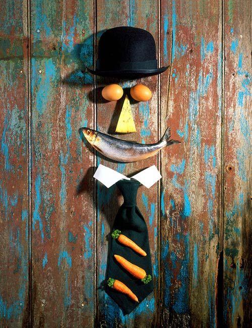 Paul Biddle - Portraits, Likenesses and Inanimates  British Food