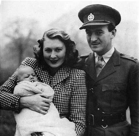 David Niven & wife Primula (1940–1946; her death) David Jr. (shown here) and one other son, Jamie.