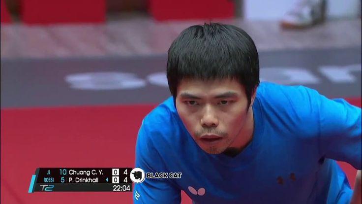 Chuang Chiu Yuan vs Paul Drinkhall 2017 T2APAC   T2 Asia Pacific Tablete...